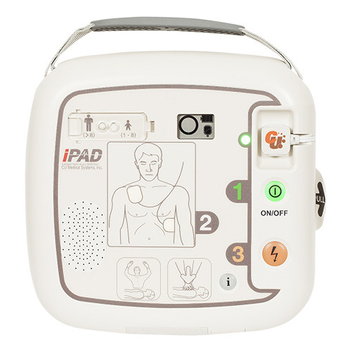 CU Medical SP1 AED voorkant