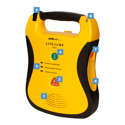 Defibtech Lifeline halfautomaat functies