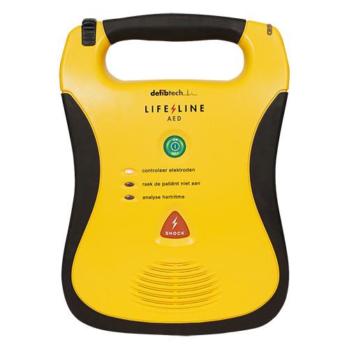 Defibtech Lifeline halfautomaat voorkant