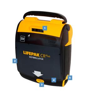 Physio Lifepak CR Plus volautomaat functies
