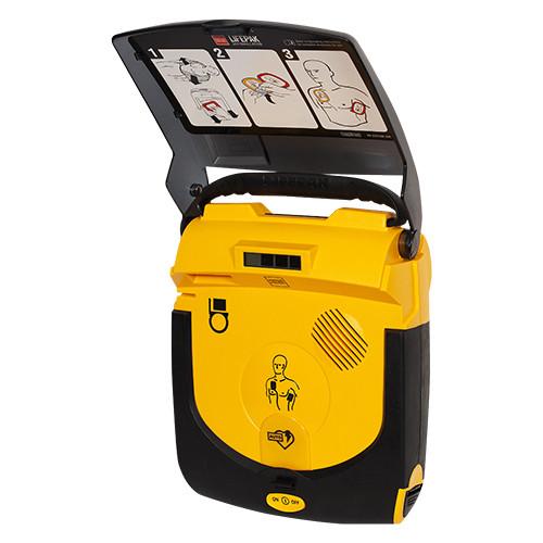 Physio Lifepak CR Plus volautomaat controls