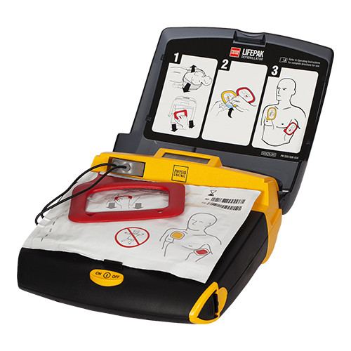 Physio Lifepak CR Plus volautomaat pads