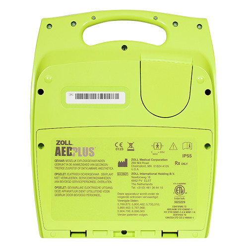 Zoll AED Plus achterkant