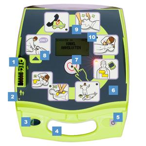 Zoll AED Plus functies